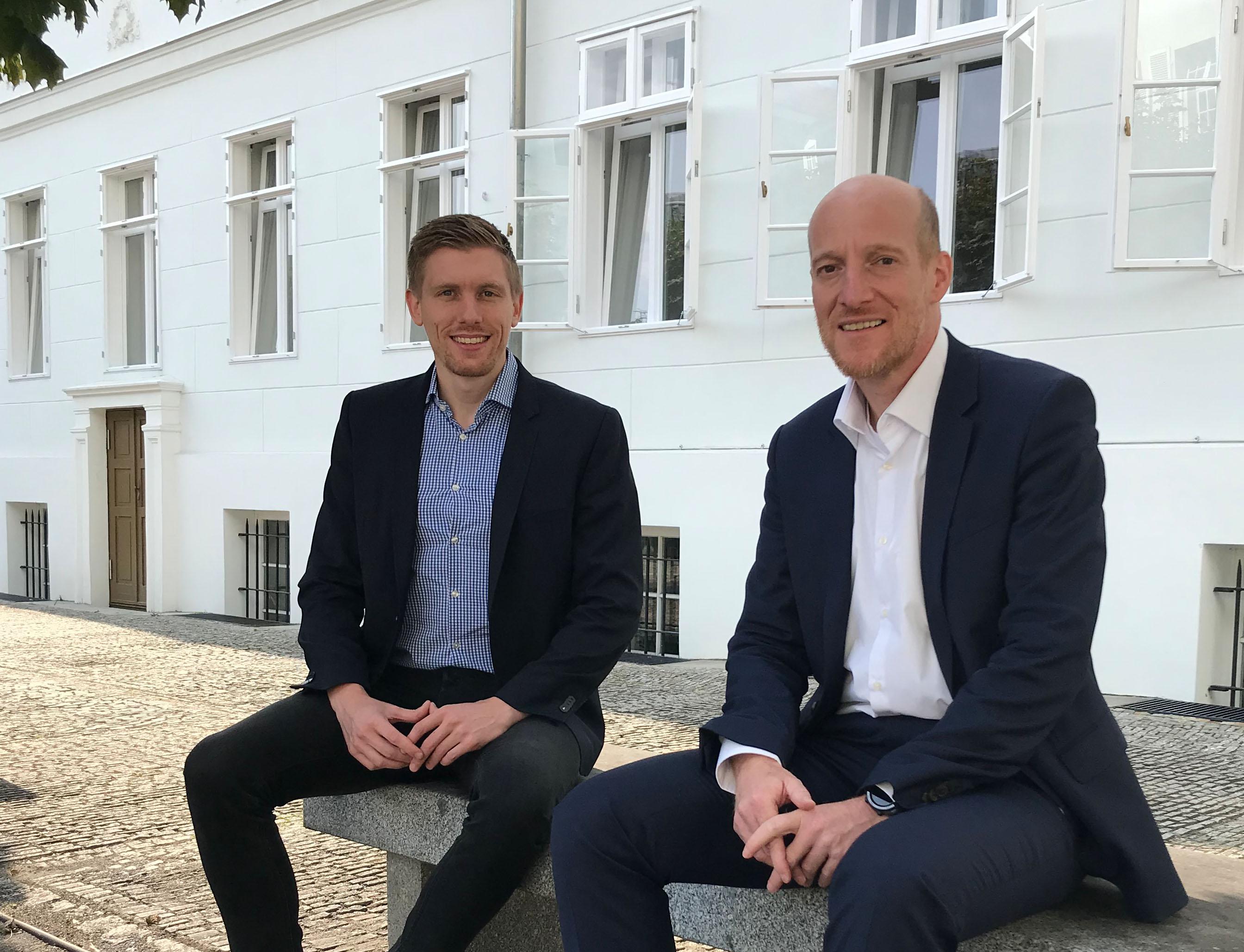 Max Eckhardt und Marc-Stephan Garbe